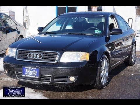 2004 Audi A6 2.7T S-line Quattro C5 Sedan - YouTube