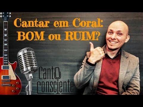 AULAS DE CANTO EM CASA - Cantar em coral é BOM ou RUIM?