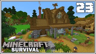 THE BUTCHER SHOP & MINI Q&A ► Episode 23 ►  Minecraft 1.15 Survival Let's Play