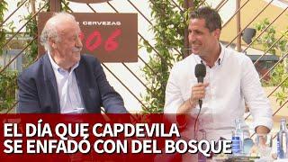 Capdevila desvela la única vez que le puso mala cara a Del Bosque | Diario AS