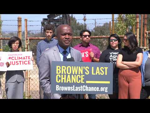 Brown's Last Chance Press Conference