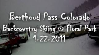 Berthoud Pass Backcountry Sking Powder Thumbnail