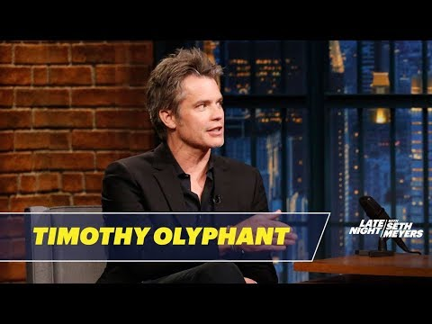 Timothy Olyphant Thinks Seth's Picked the Wrong Name for His Newborn
