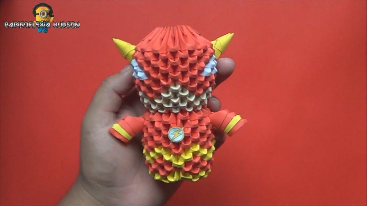 Origami 3D Mini Flash - YouTube