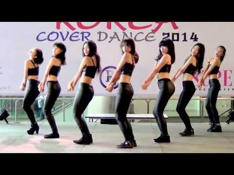 140301 PMT cover AOA - Miniskirt @Esplanade Korea Cover Dance 2014 (Audition)