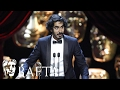 Dev Patel wins Supporting Actor for Lion | BAFTA Film Awards 2017