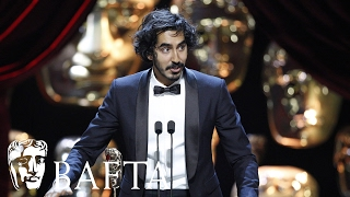 Dev Patel wins Supporting Actor for Lion | BAFTA Film Awards 2017