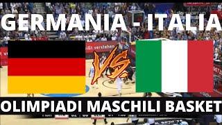 Germania Maschile - Italia Maschile / Olimpiadi Basket Tokyo 2021 / Gruppo B ( 1 giornata ) Live TV