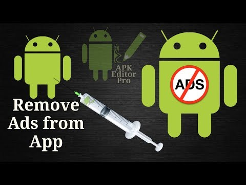 THE BEST WAY OF REMOVING ADS FROM APPLICATION || APK EDITOR PRO