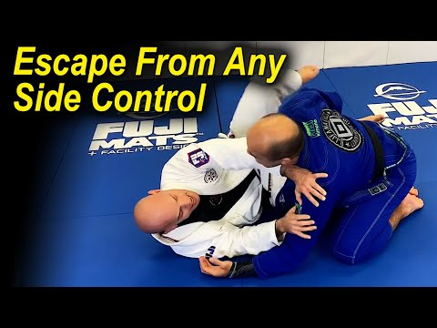 How To Escape From Any Side Control In Jiu Jitsu by Xande Ribeiro