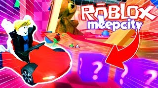 AMAZING RACES IN ROBLOX! IN MEEPCITY 💙💚💛 WITH BABY VITA AND ADRI 😍 AMIWITOS IN MINECRA