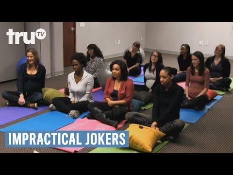 Impractical Jokers  Q Experiences The Joys Of Pregnancy Punishment  truTV
