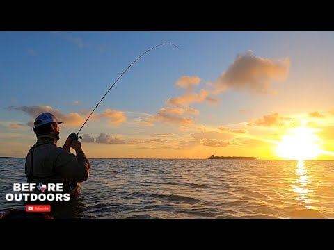 WADE Fishing Galveston EAST BAY (Catch & Cook)