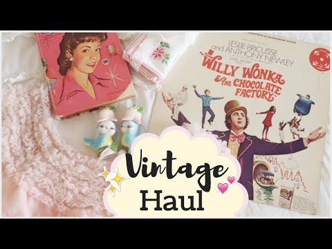 VINTAGE HAUL! 1950's clothing, records & more!