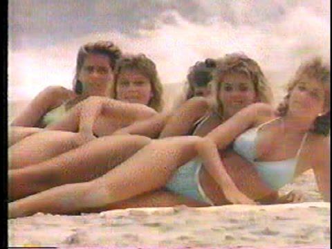 Ocean City, MD bikini girls tourism commercial 1991