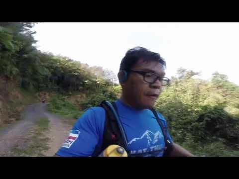 Borneo Ultra Trail Marathon 2017, Sabah, Malaysia.