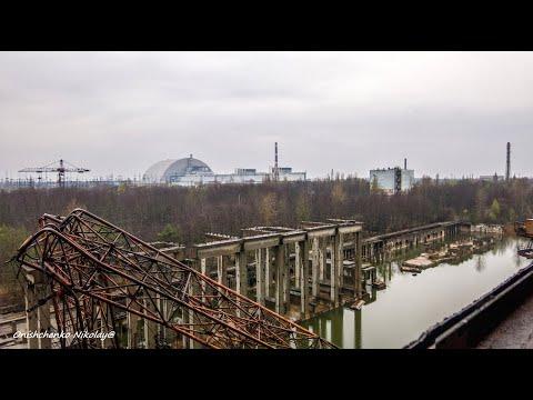 Чернобыль. ЧАЭС. Проход по 5-му энергоблоку