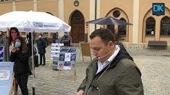 Reisebüro-Betreiber demonstrieren in Pfaffenhofen