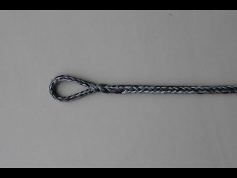 Brummel lock-splice with one side fixed