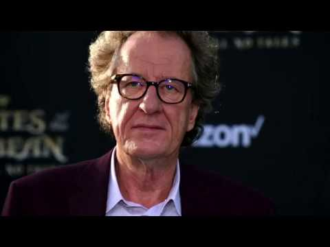 Geoffrey Rush would 'look at me' and growl: Actor