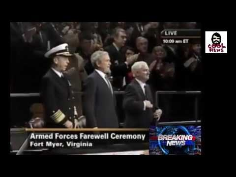 OBAMA FAREWELL ADDRESS vs Bush Farewell address. SEE ANYTHING DIFFERENT?