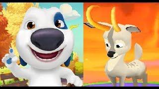 МОЙ ГОВОРЯЩИЙ ХЭНК #170 игра мультик видео для детей ХЕНК и ДРУЗЬЯ ТОМ и АНДЖЕЛА #Мобильныеигры