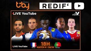 France - Portugal I TIBY HANDBALL U18M - 2019 (replay)