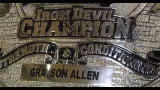 Grayson Allen wins The Belt