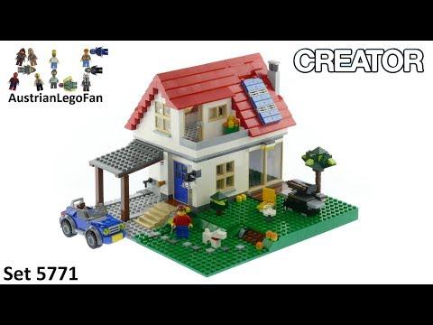 Lego Creator 5771 Hillside House - Lego Speed Build Review