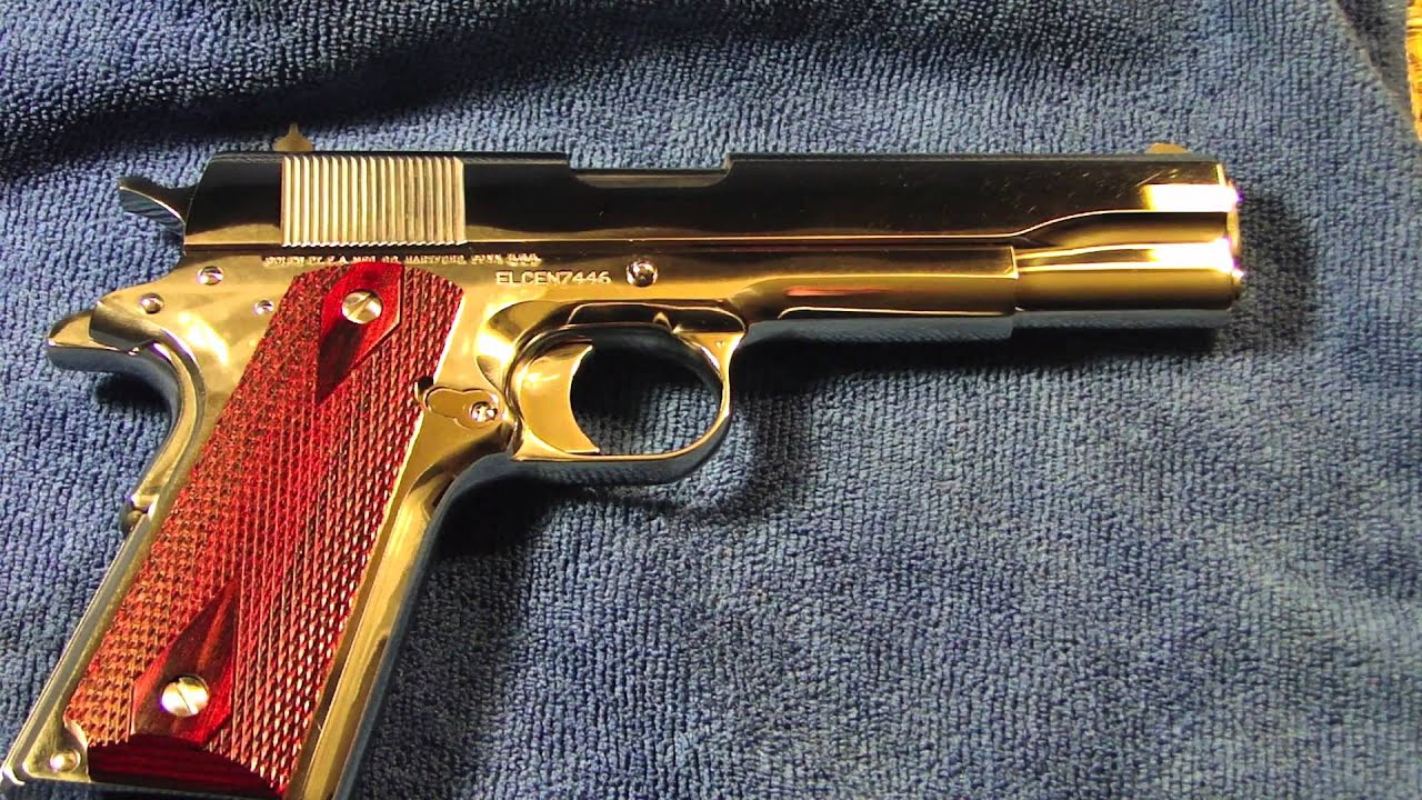 ARMSLIST - For Sale/Trade: 1911 colt custom 38 super bright stainless