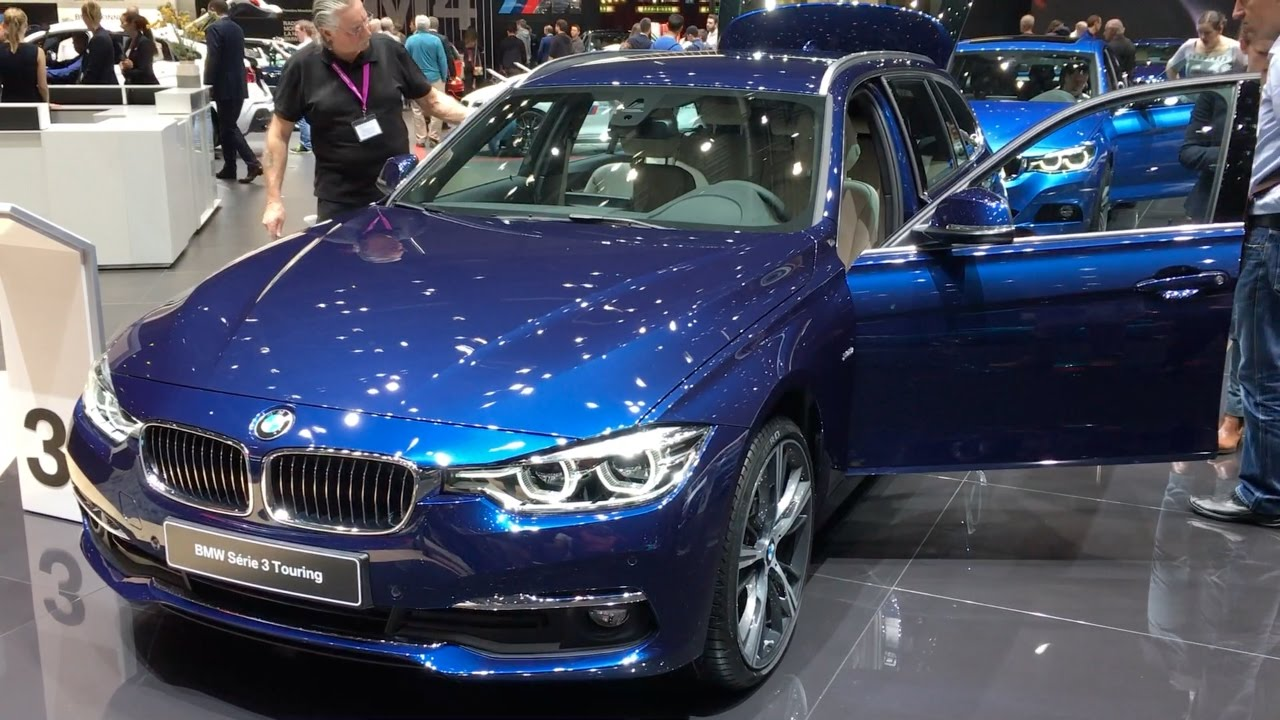 Bmw 3 Series Touring 2017 In Detail Review Walkaround Interior Exterior