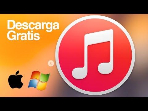 iTunes como descargar bajar para Windows y Mac GRATIS