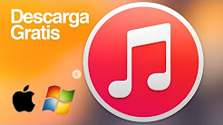 iTunes como descargar bajar para Windows y Mac GRATIS