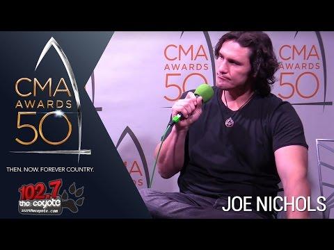 CMA Awards 50: Joe Nichols Talks World Series, Opening For Garth Brooks, & New Music!