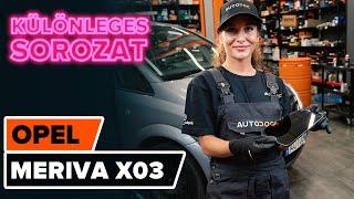 Opel Meriva B szerelési kézikönyv online