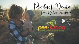 Demo of Pee-Kaboo Stickers