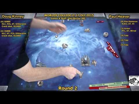 Worlds Collide 2, Round 2: Heaver/Kinney 17 OCT 2015