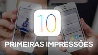 iOS 10: PRIMEIRAS IMPRESSÕES (beta 1)