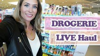 DROGERIE LIVE Shopping Haul -  Shoppen mit Kind ist eine Challenge  -
