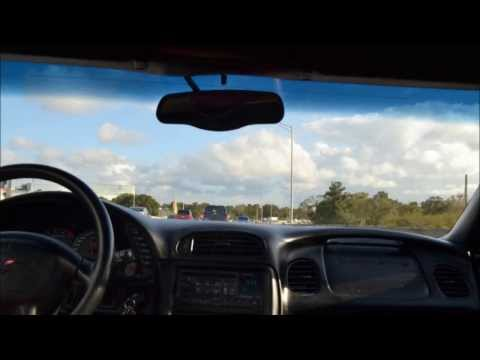 Driving to work in a corvette Timelapse