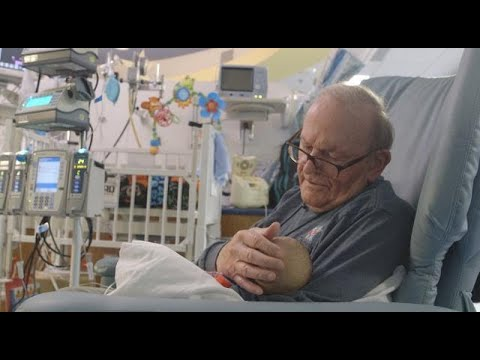 Grandpa who snuggles preemie babies called 'a treasure'