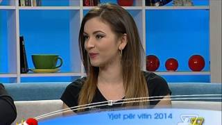 Repeat youtube video Dita Ime - Horoskopi 2014 - 30 Dhjetor 2013 - Show - Vizion Plus
