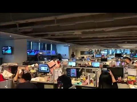 شاهد: اللحظات الأولى لزلزال تايوان من داخل إحدى غرف الأخبار …  - نشر قبل 2 ساعة