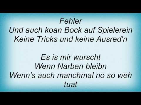 Sts - Zeig Mir Deinen Himmel Lyrics