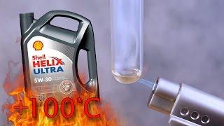 Shell Helix Ultra ect 5W30 Jak czysty jest olej silnikowy? Test powyżej 100°C
