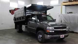 DustyOldCars.com 2002 Chevy 3500 Dump SN 1216