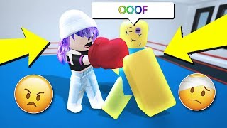 TRAINING FOR A ROBLOX BOXING FIGHT!! *fight club*