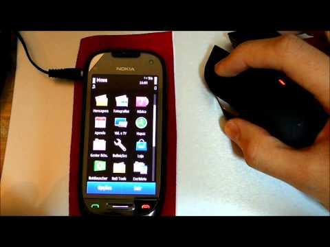 Bluetooth mouse on Nokia C7