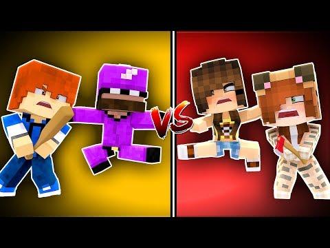 Minecraft Daycare - GIRLS VS BOYS !? (Minecraft Roleplay)