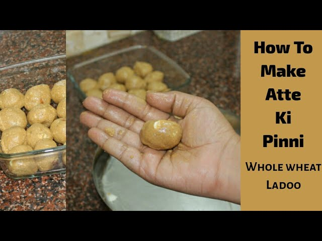 #pinni #attekipinni #dadimakirecipe Atte Ki Pinni, how to make punjabi ladoo pinni